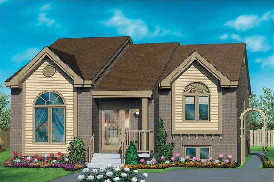 Main image for house plan # 12625