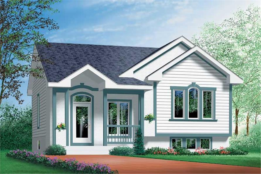 Main image for house plan # 12637