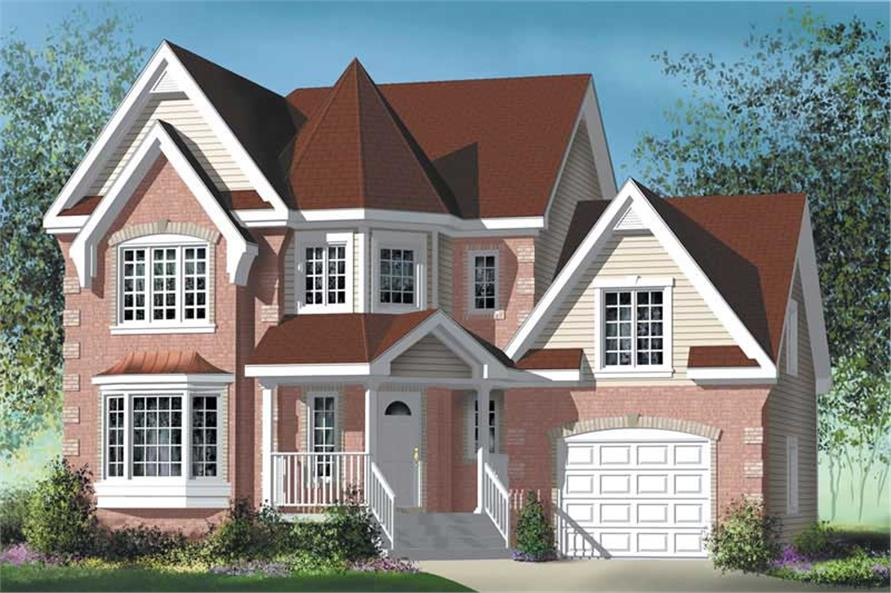 Main image for house plan # 12897
