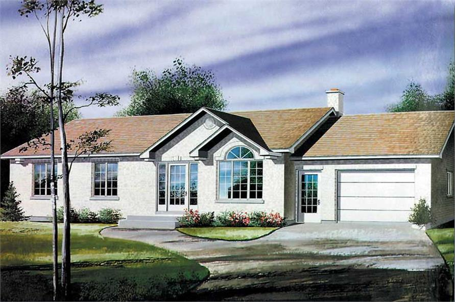 Main image for house plan # 12587