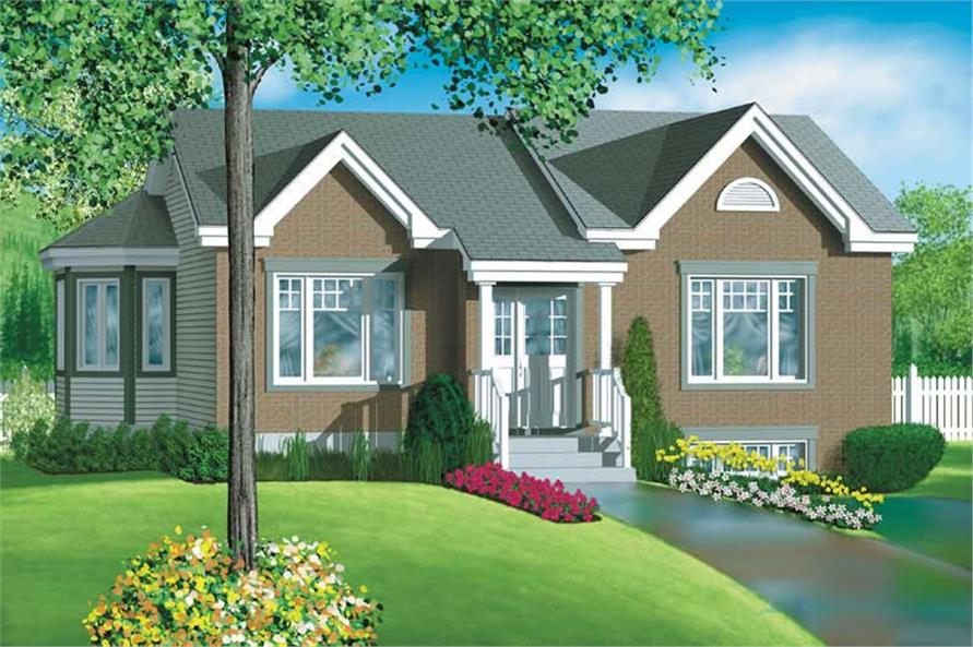 Main image for house plan # 12638