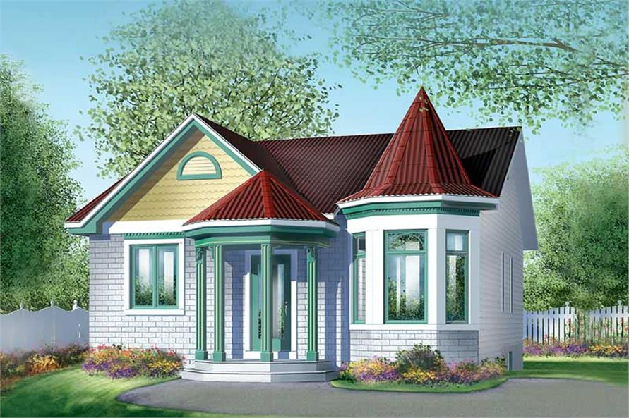 Main image for house plan # 12278