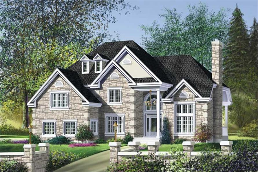 Main image for house plan # 12263