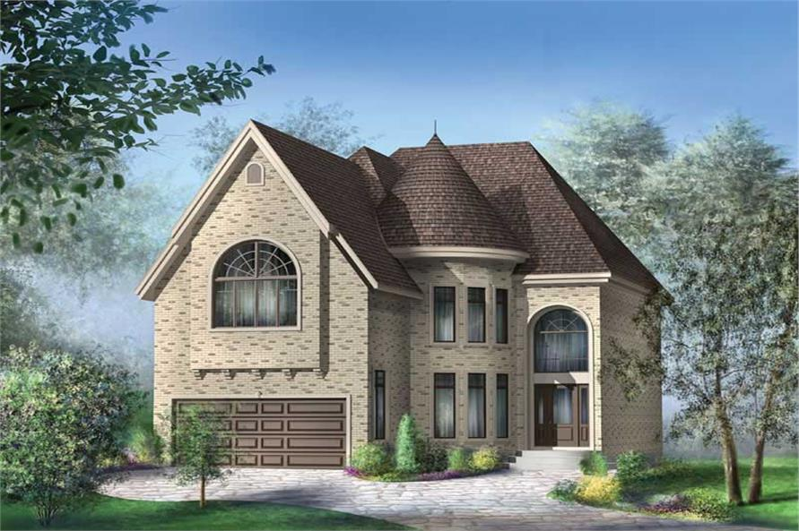 Main image for house plan # 12253