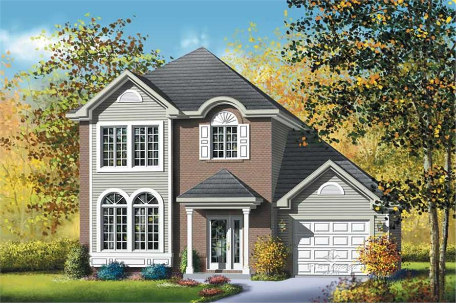 Main image for house plan # 12956