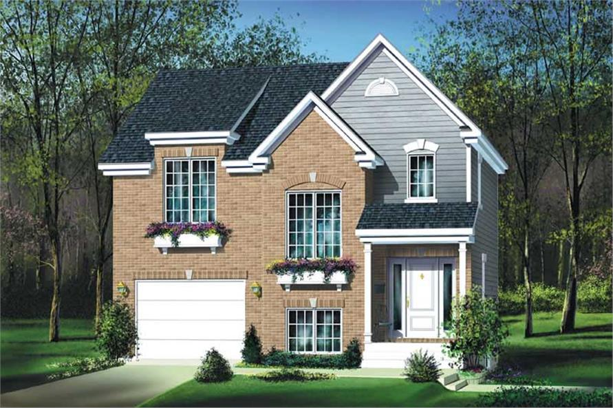 Main image for house plan # 12945