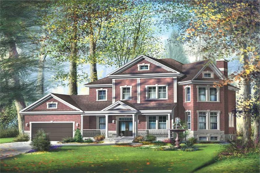 Main image for house plan # 12937