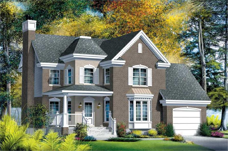 Main image for house plan # 12902