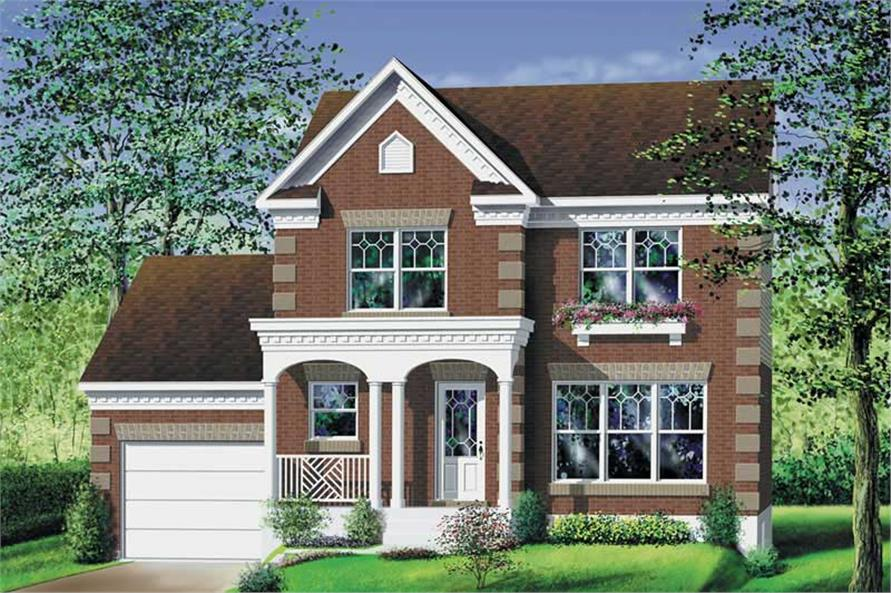 Main image for house plan # 12914