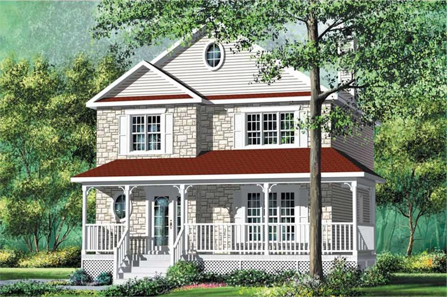 Main image for house plan # 12798