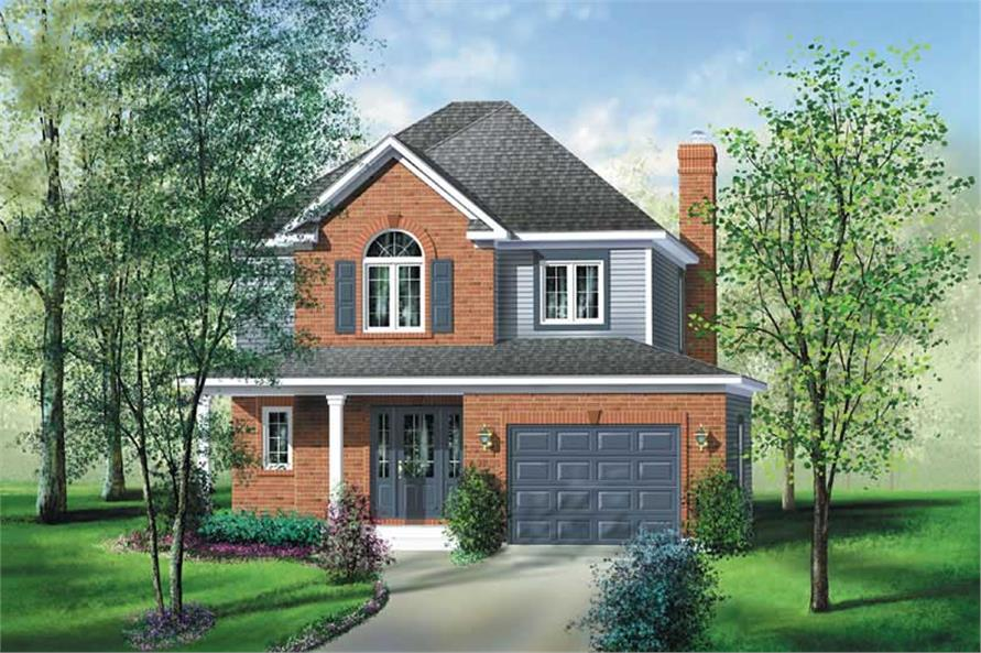 Main image for house plan # 12908