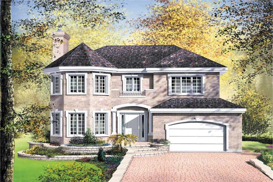 Main image for house plan # 12420