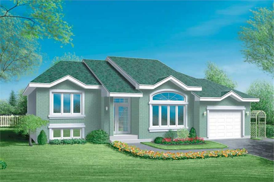 Main image for house plan # 12502
