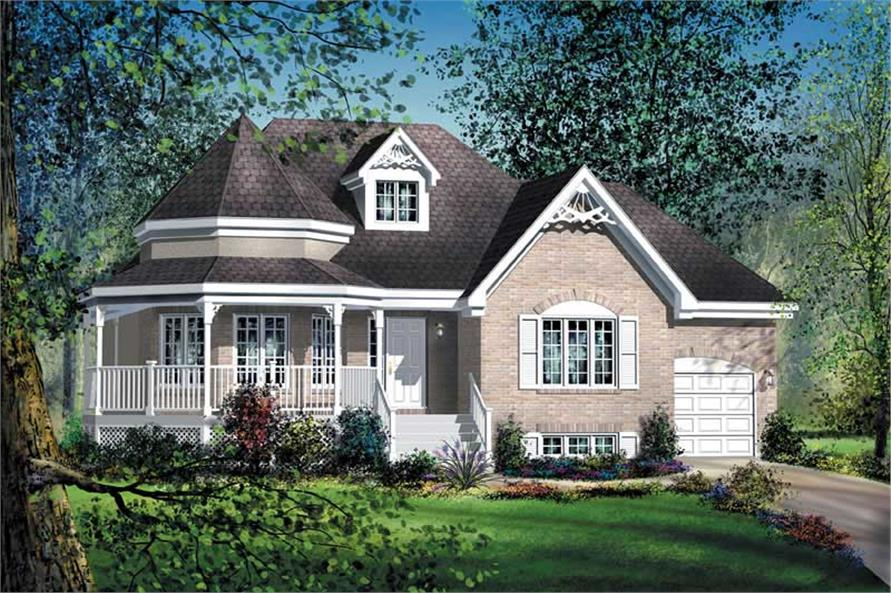 Main image for house plan # 12703