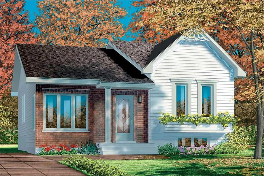 Main image for house plan # 12415