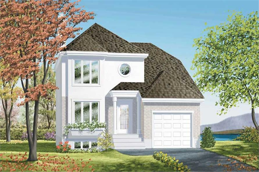 Main image for house plan # 12464