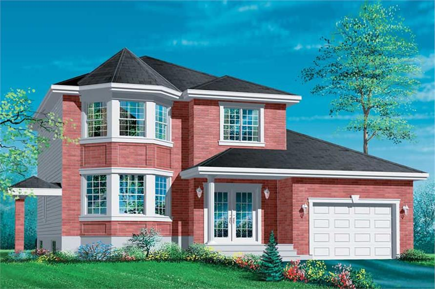 Main image for house plan # 12349