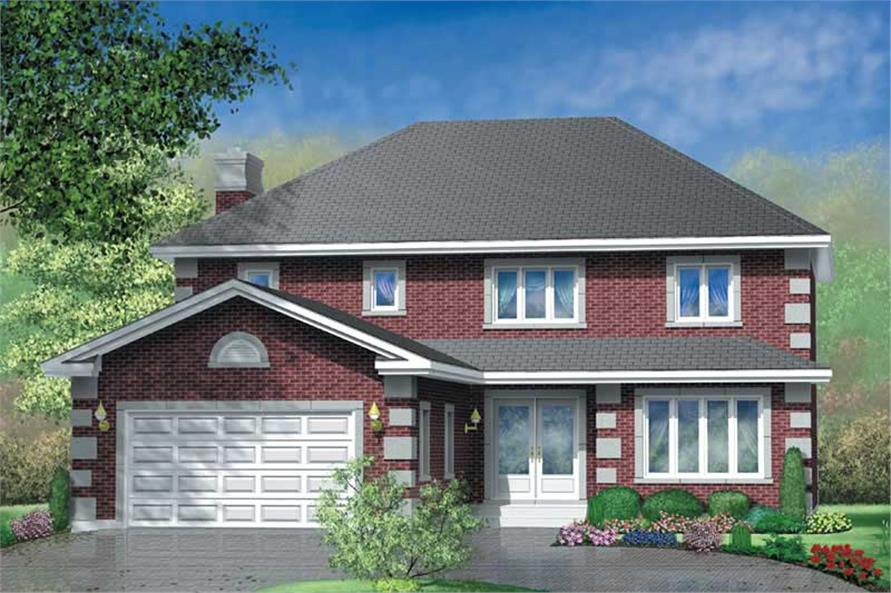 Main image for house plan # 12504