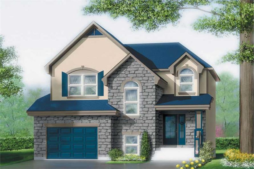 Main image for house plan # 12529