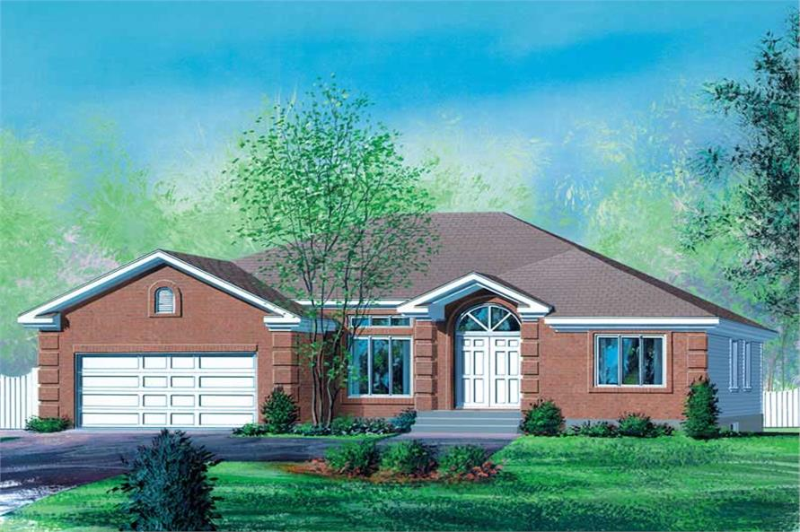 Main image for house plan # 12512