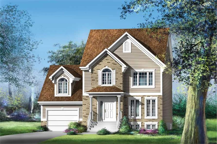 Main image for house plan # 12886