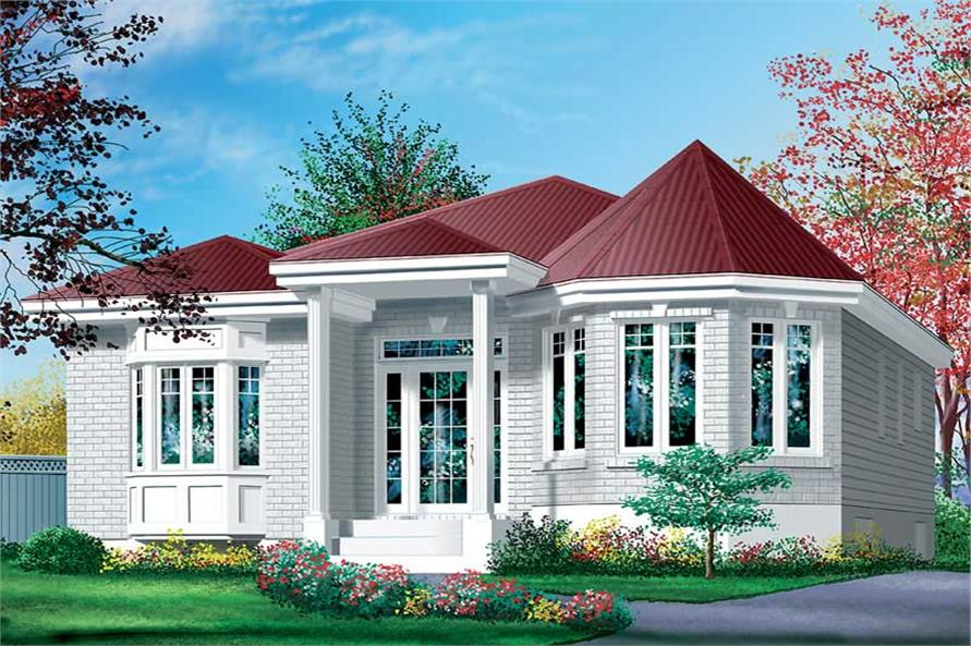 Main image for house plan # 12576