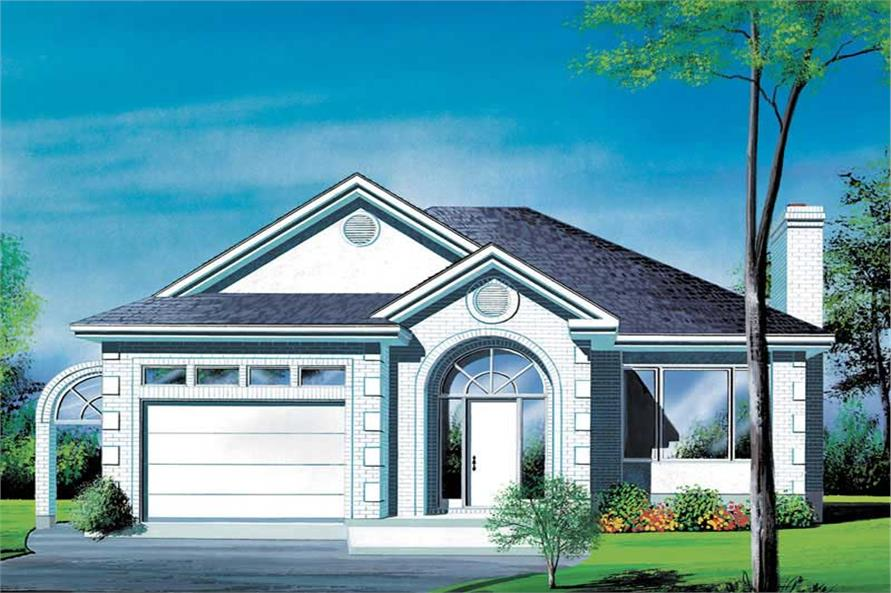 Main image for house plan # 12571