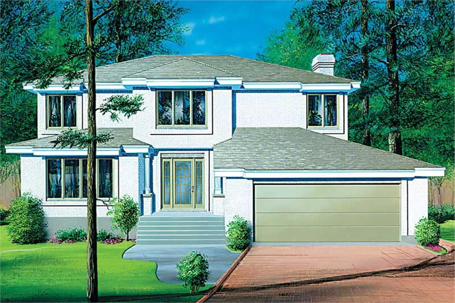 Main image for house plan # 12530