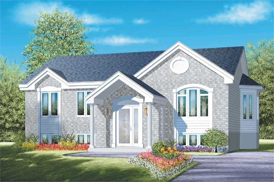 Main image for house plan # 12483