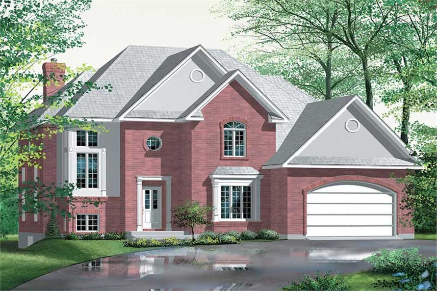 Main image for house plan # 12466