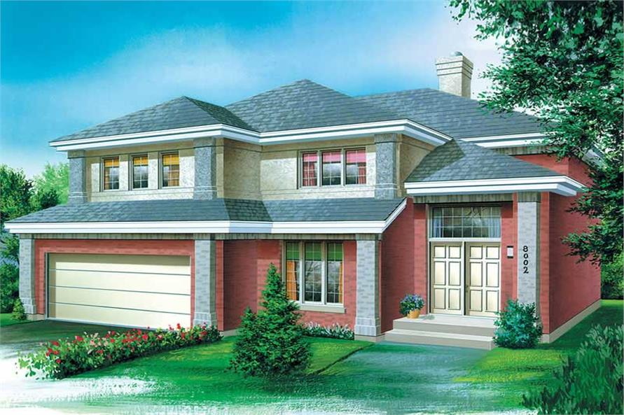 Main image for house plan # 12561