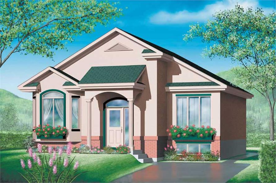 Main image for house plan # 12580