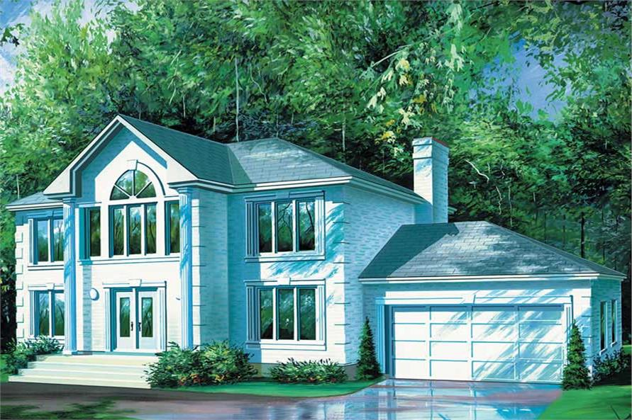 Main image for house plan # 12311