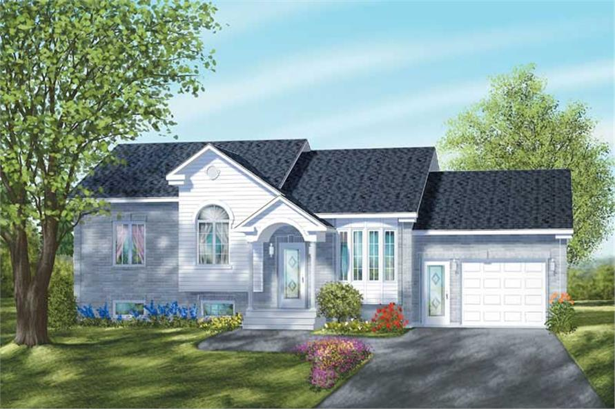Main image for house plan # 12310