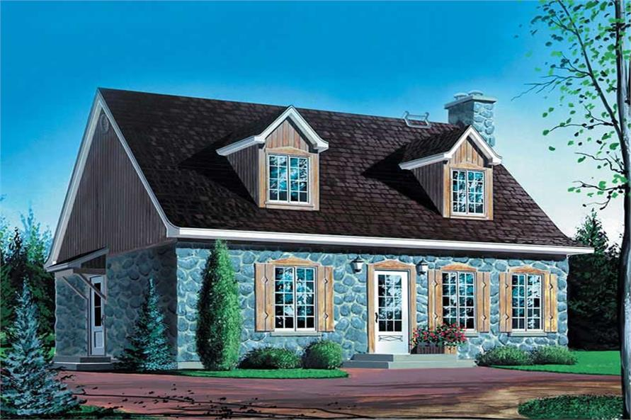 Main image for house plan # 12306