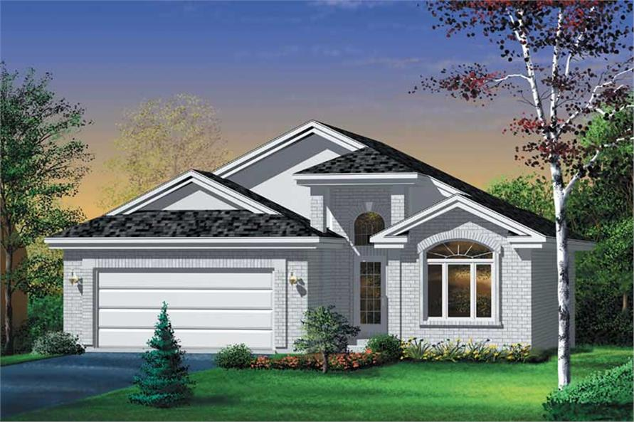 Main image for house plan # 12523