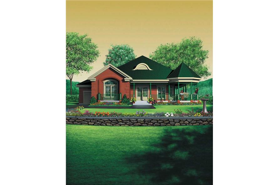 Main image for house plan # 12345