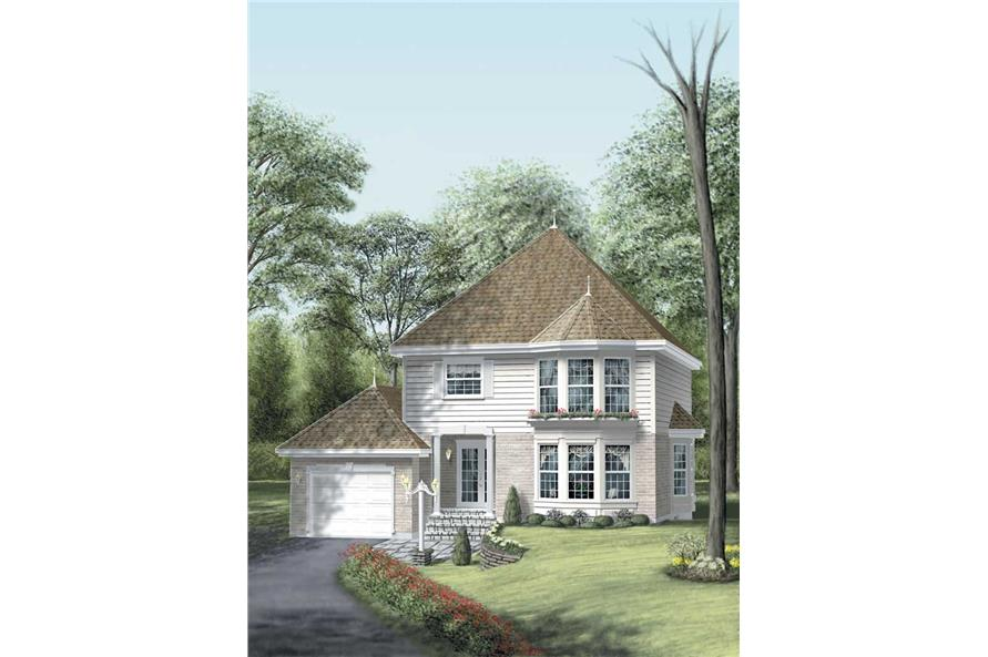 Main image for house plan # 12342