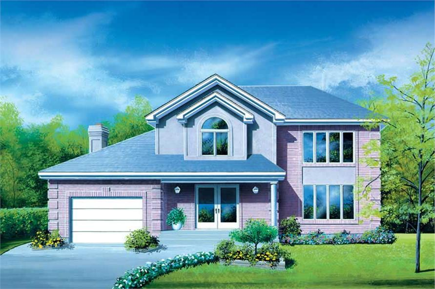 Main image for house plan # 12341