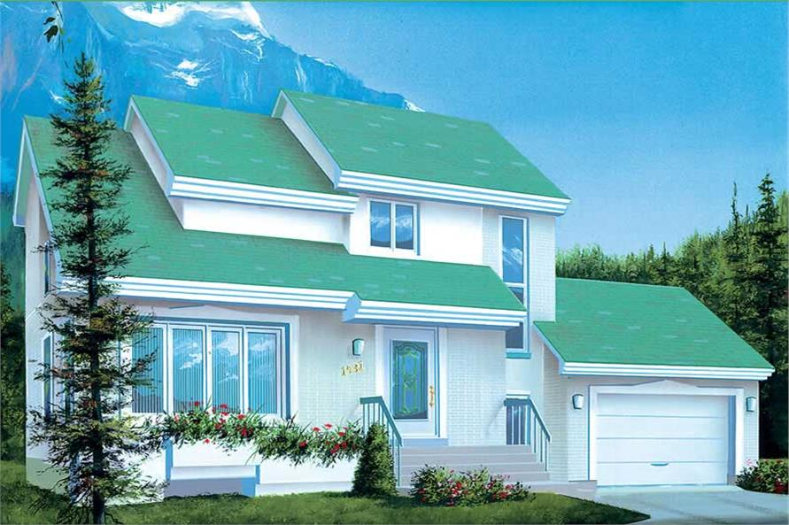 Main image for house plan # 12337