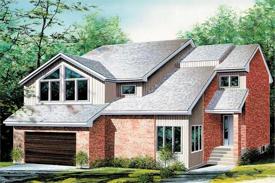 Main image for house plan # 12321
