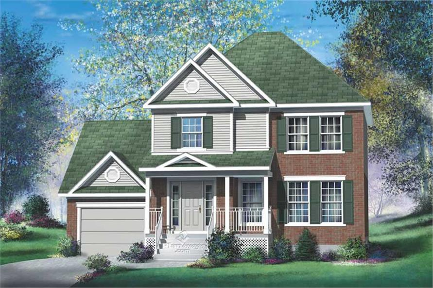 Main image for house plan # 12907