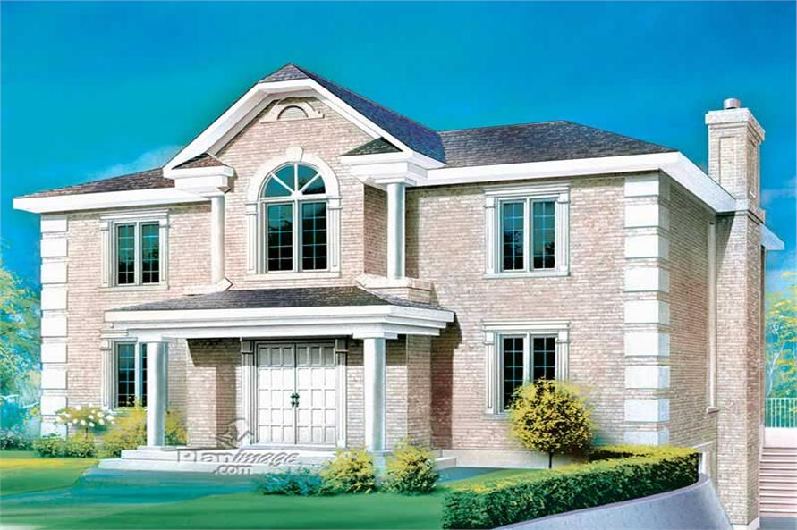Main image for house plan # 12330