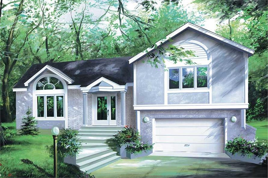 Main image for house plan # 12336