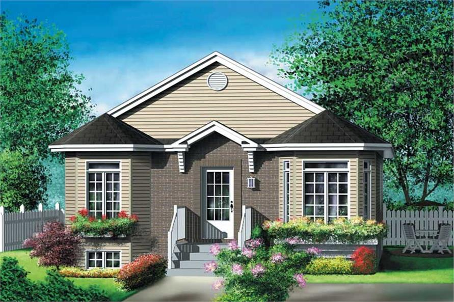 Main image for house plan # 12691