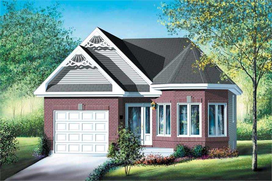 Main image for house plan # 12702