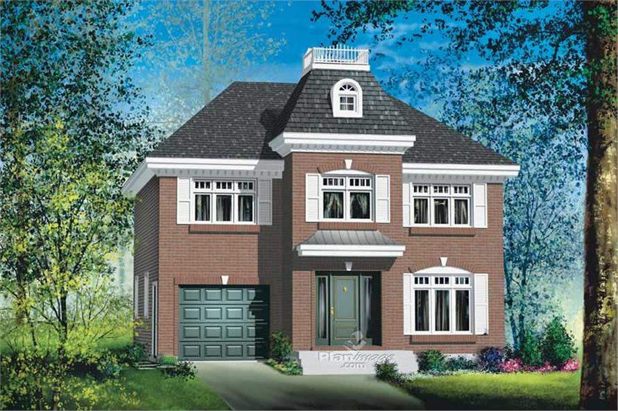 Main image for house plan # 12891