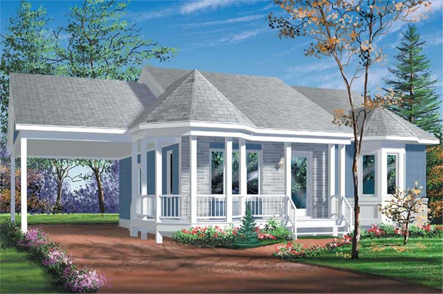 Main image for house plan # 12574