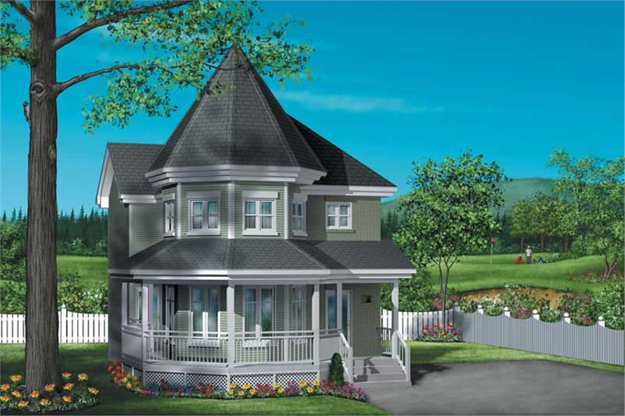 Main image for house plan # 12552