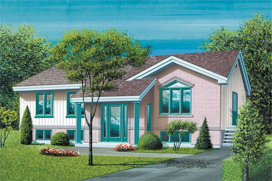 Main image for house plan # 12544